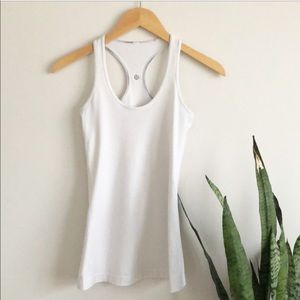 lululemon athletica Tops - Lululemon Cool Racerback in White